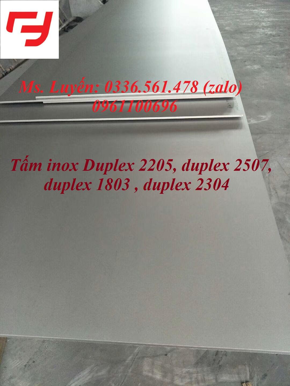 Tam inox duplex